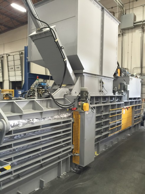 Installed a GB-1111FS-2506 at Response Envelope in Ontario, CA to bale their excess paper