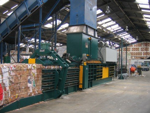 Upcoming Installation of 2 GB-1111F-2518's to a major recycler on the west coast.