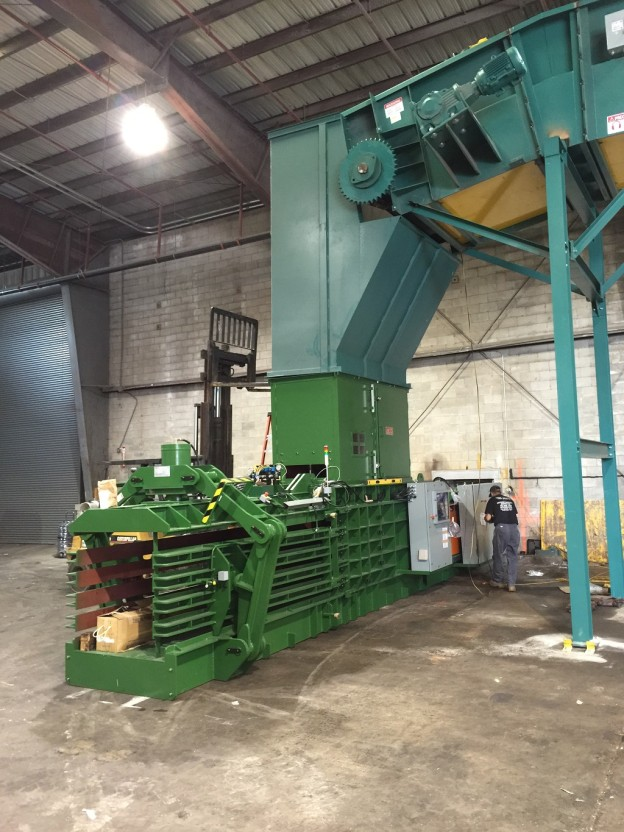 Just completed installation of GB-1111F-2518 to a major recycler in the northeast region.