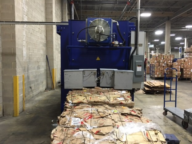 2nd Strautmann BaleTainer at a clothing company in Dayton, NJ.