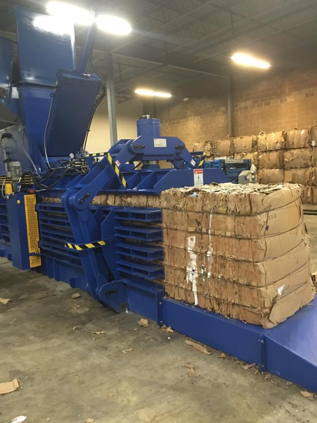 Cardboard Recycler installed in northern New Jersey